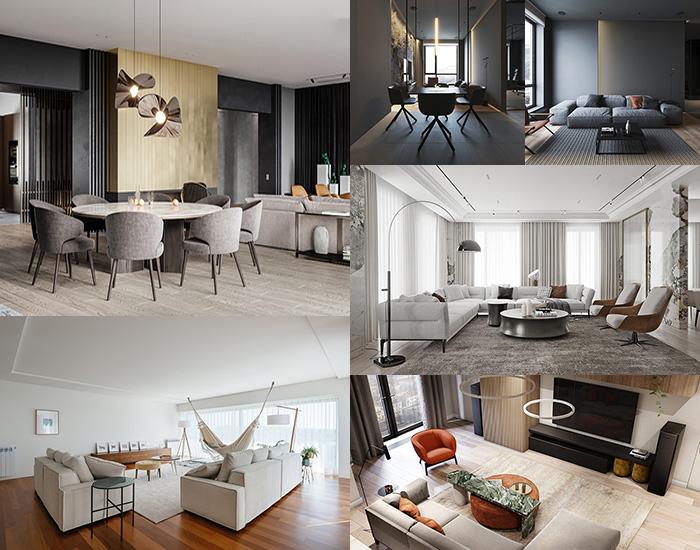 دکوراسیون منزل 2019 - خط معمار